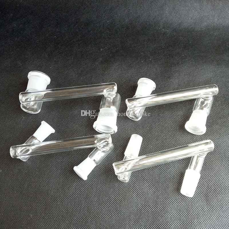 유리 드롭 다운 회수 캐처 어댑터 흡연 도구 액세서리 10mm 14mm 18mm Reclaimer 오일 rigs 물 담뱃대 봉의 변환기 8 스타일