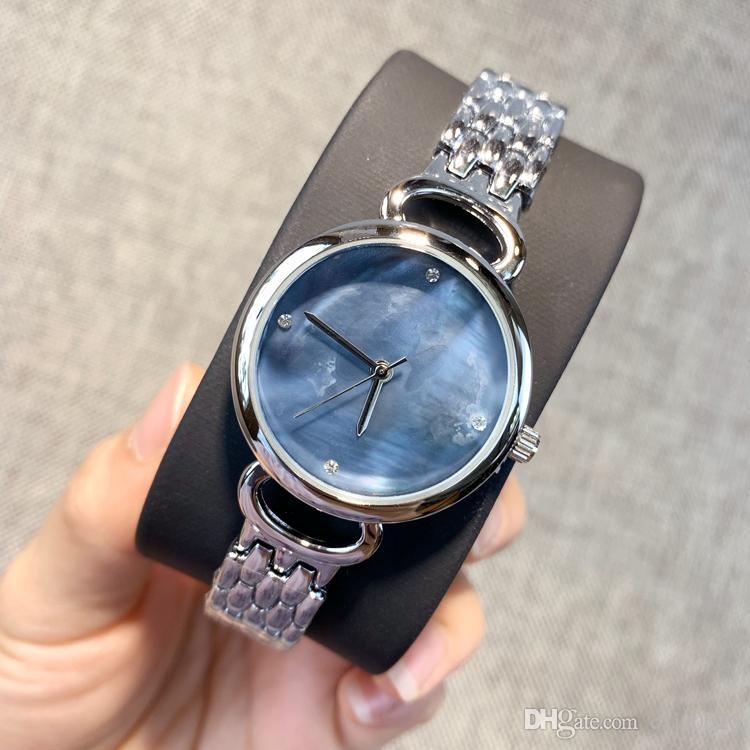 2019 Nowy Styl Moda Top Kobiety Zegarek Rose Gold Ze Stali Nierdzewnej Sexy Lady Watch Luksusowe Wysokiej Jakości Wristwatch Lady Clock Casual Okrągła twarz