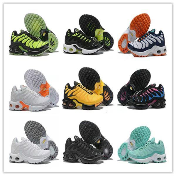 2020 Enfants TN Plus luxurys Designers de sport Chaussures de course pour enfants de filles de garçon Baskets Tn Chaussures de sport classique en plein air tout-petits Sneakers