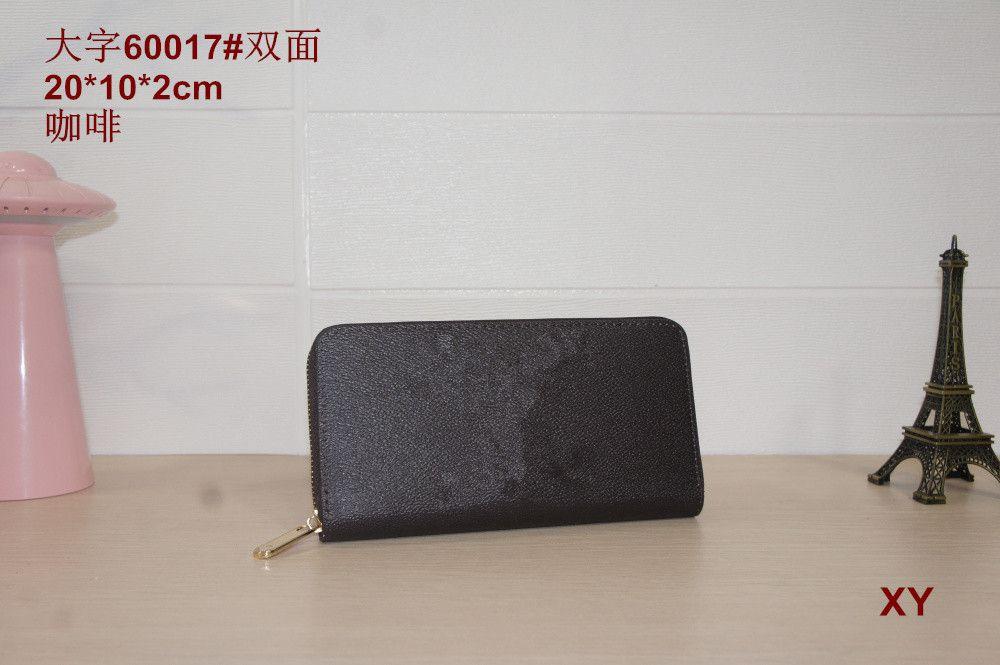 neue Frauen Brieftasche Damen Leder PU Geldbörsen Haspe Kupplung Lange Reißverschluss Telefon Halter 2019 Weibliche Brieftaschen 60017 60015