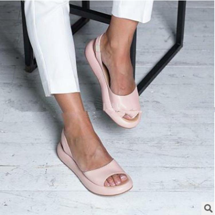 2020 nuevo estilo de diseño diseñador de hombres y mujeres casuales sandalias planas simple cómodo y elegante ligera