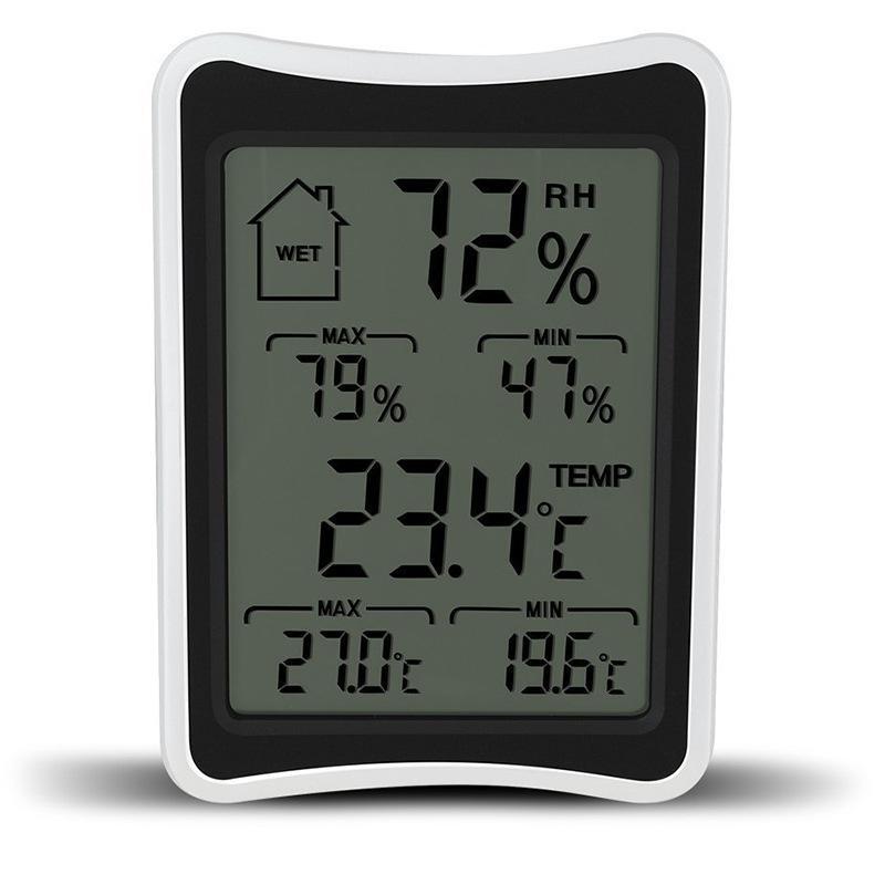 Digital LCD Umwelt Thermometer Hygrometer Feuchtigkeit Temperatur Meter Big Screen Indoor Haushalt Thermometer und Hygrometer DBC VT1144