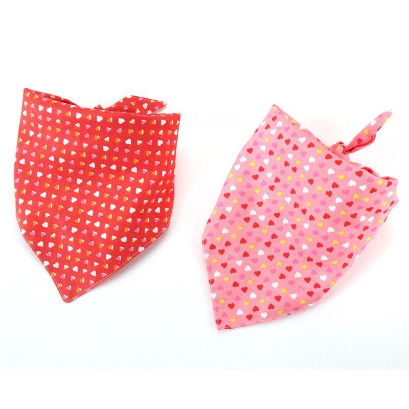 Chien bavoirs pour petits chiens chiot coton lavables pour animaux noeuds papillon collier chat Moyen Grand yq00989 Toilettage pour chiens