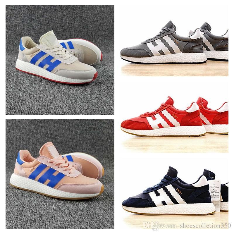Adidas Original INIKI RUNNER 2018 Top Casual Iniki Runner Iniki Retro Mens Runner Sapatos OG Londres Iniki Sneakers Mulheres Athletic Sneaker alta qualidade calçados esportivos
