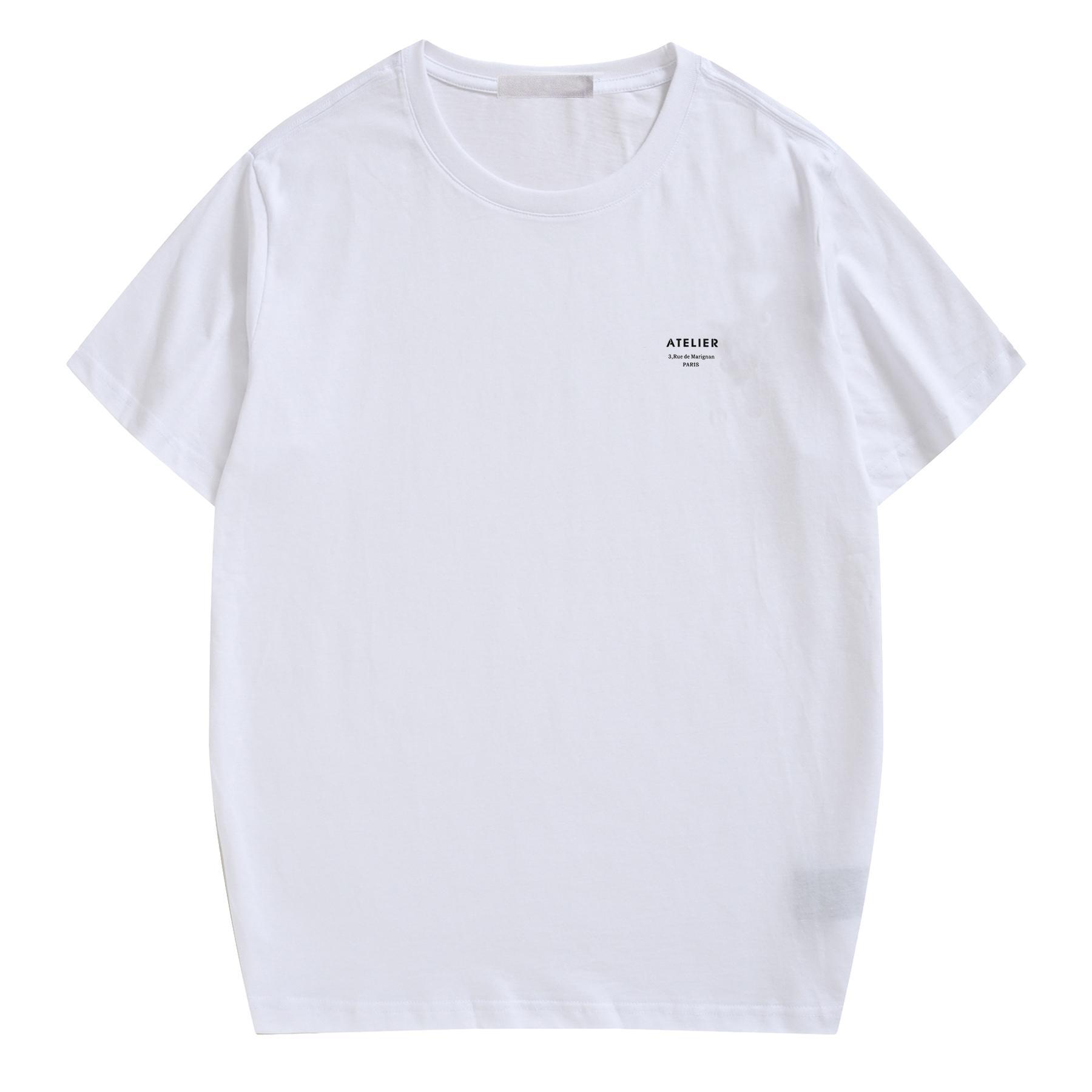 20ss del nuovo progettista di arrivo donne degli uomini T-shirt di alta qualità T superiori brevi Mens manica vestiti della camicia di colore solido di marca con le lettere S-XL