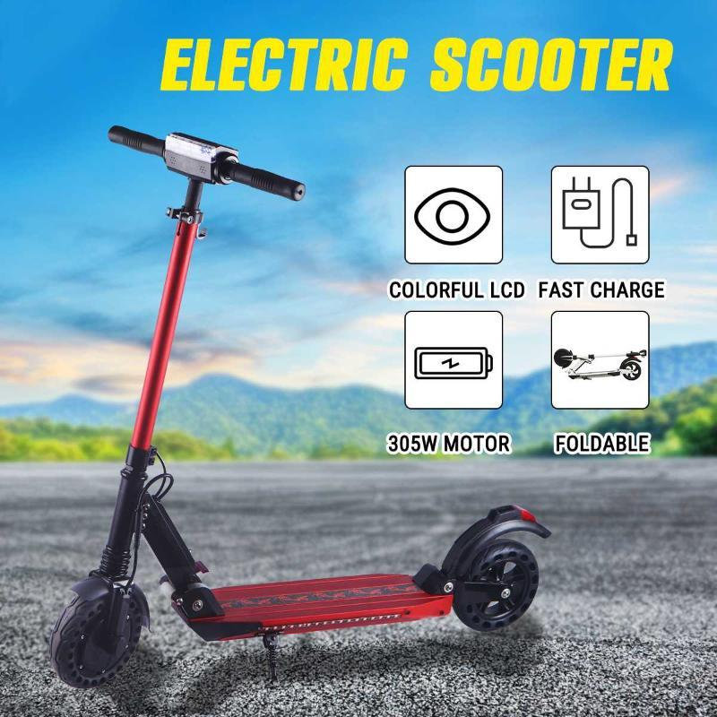 350W 36V Electric Scooters Adult Electric Scooter Kick Scooter K3 Mini Foldable Portable E-Scooter Bike Bicycle