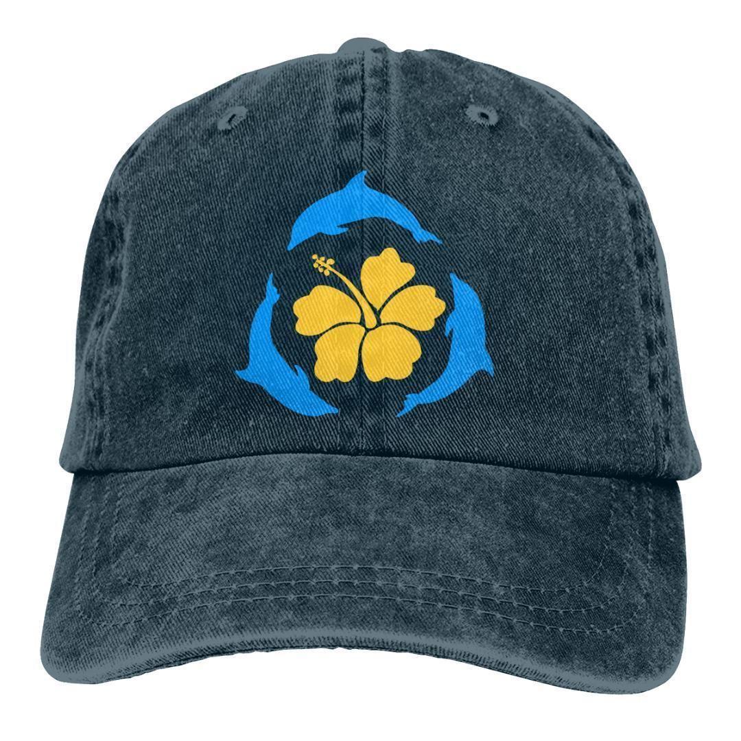 cappello regolabile Papà unisex delle donne degli uomini Denim Strapback Berretto da baseball