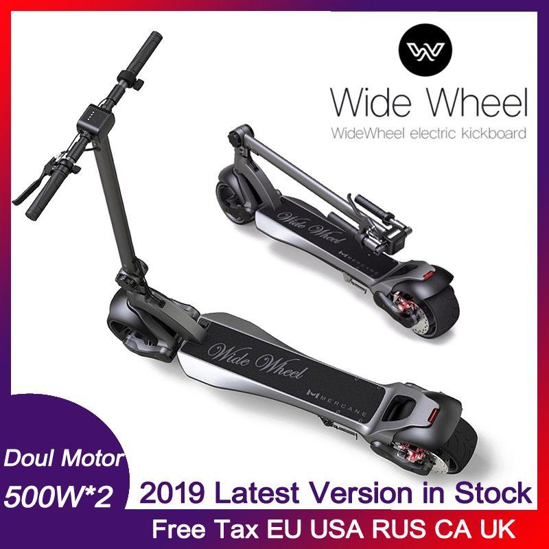 500W 두 바퀴 전기 스쿠터 48V의 넓은 휠 듀얼 (spindle) 모터 스쿠터에 대한 기존 Widewheel 스쿠터 전기 스케이트 보드