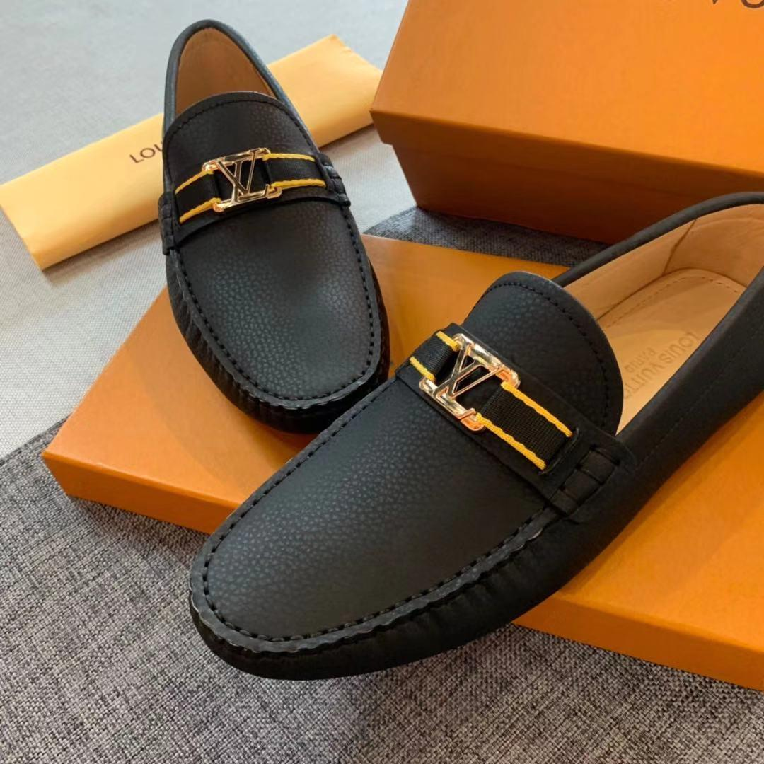 Men s Hombres Porto-Vecchio MOCASÍN s holgazanes de los hombres del diseñador de lujo 1A5F9L s zapatos con caja de 38-45