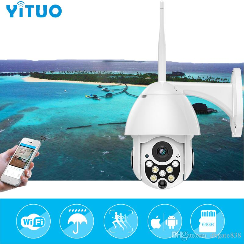1080P 2MP Wireless IP Camera Wifi Speed Dome PTZ Outdoor IP66 Onvif Two Way Audio IR Night Vision CCTV Security Camera IP
