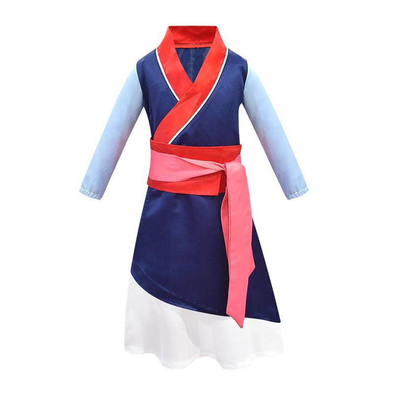 2020 Easter Mulan Cosplay Costume For Kid Dresses Chinese Style Teenage Girl Up Disguise Vintage Frock Children Graduation Tunic Clothes From Kidcostume 15 81 Dhgate Com