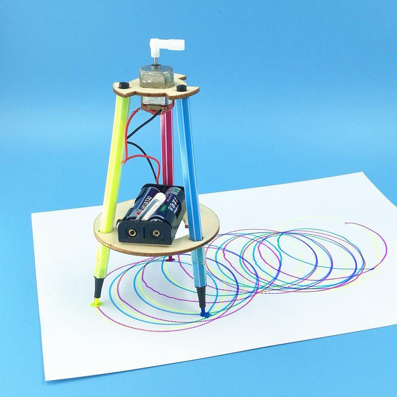 Эрудит робот элементарные студенты науки и техники мелкого производства изобретение руководство DIY научный эксперимент игрушка