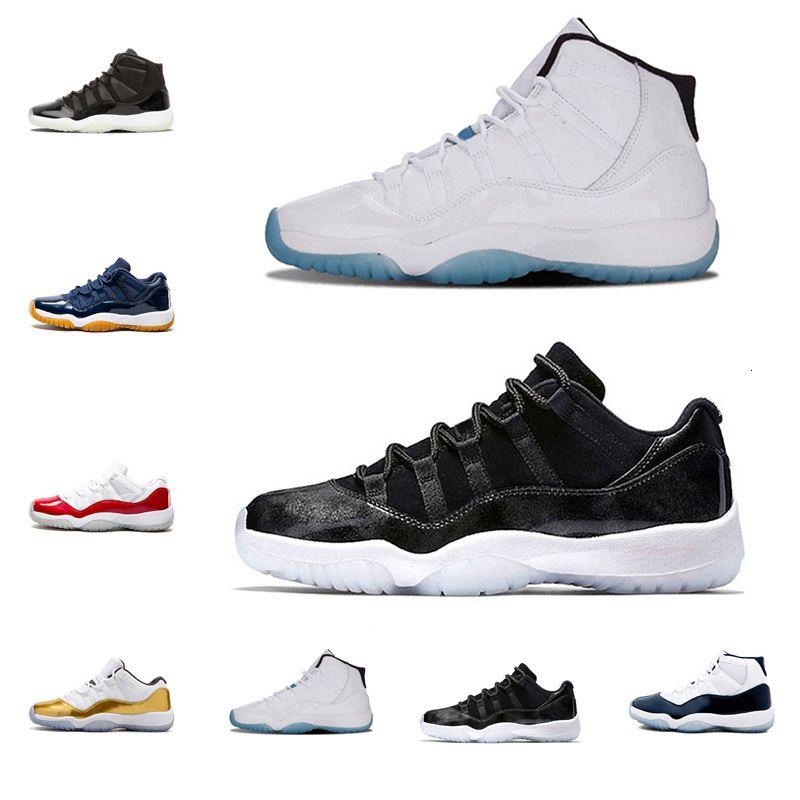 2019 Баскетбол обувь 11s Gym красный Мужчины Баскетбол Обувь Prom Night шапочке и мантии гамма синий 82 96 Гамма Синий Sneaker 5.5-13