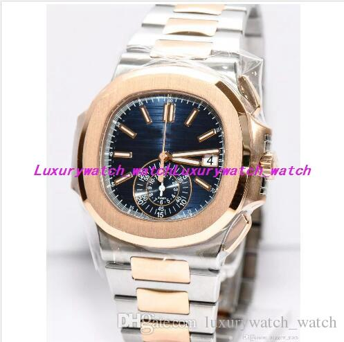 10 Style New Luxury Watches 5980/1A 40.5mm Silver Gold Stainless Steel Bracelet Automatic Fashion Men's Watch Wristwatch