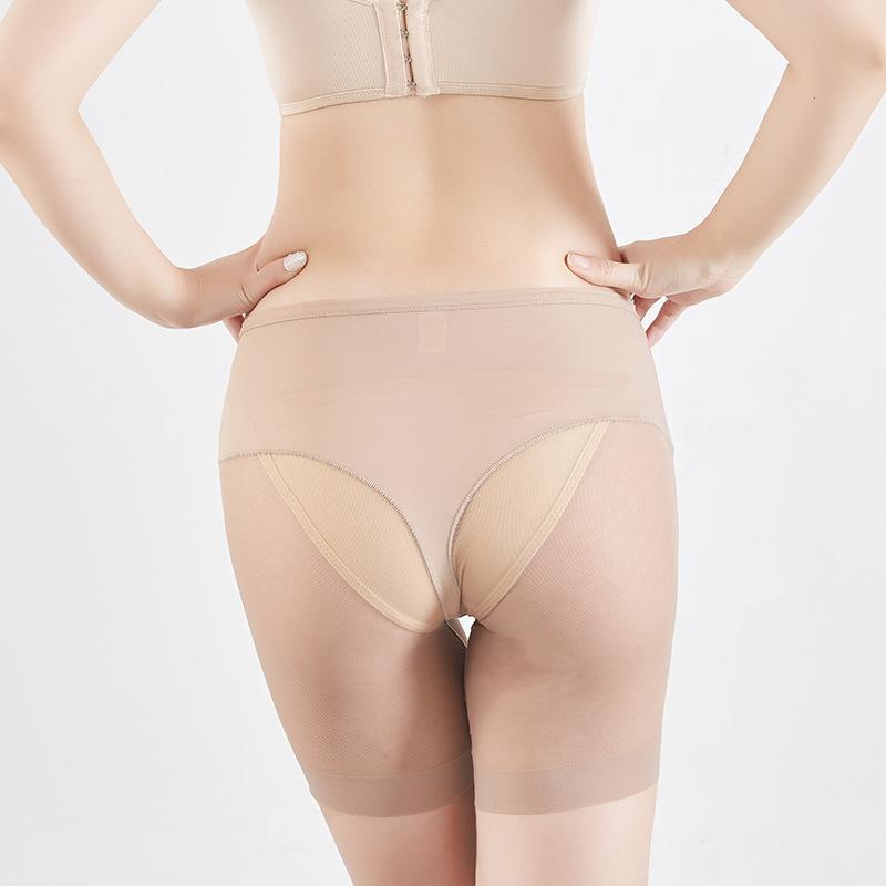 2019 nouvelle grande culotte pour l'été sous-vêtement en tissu net épissage maille Body Shaping