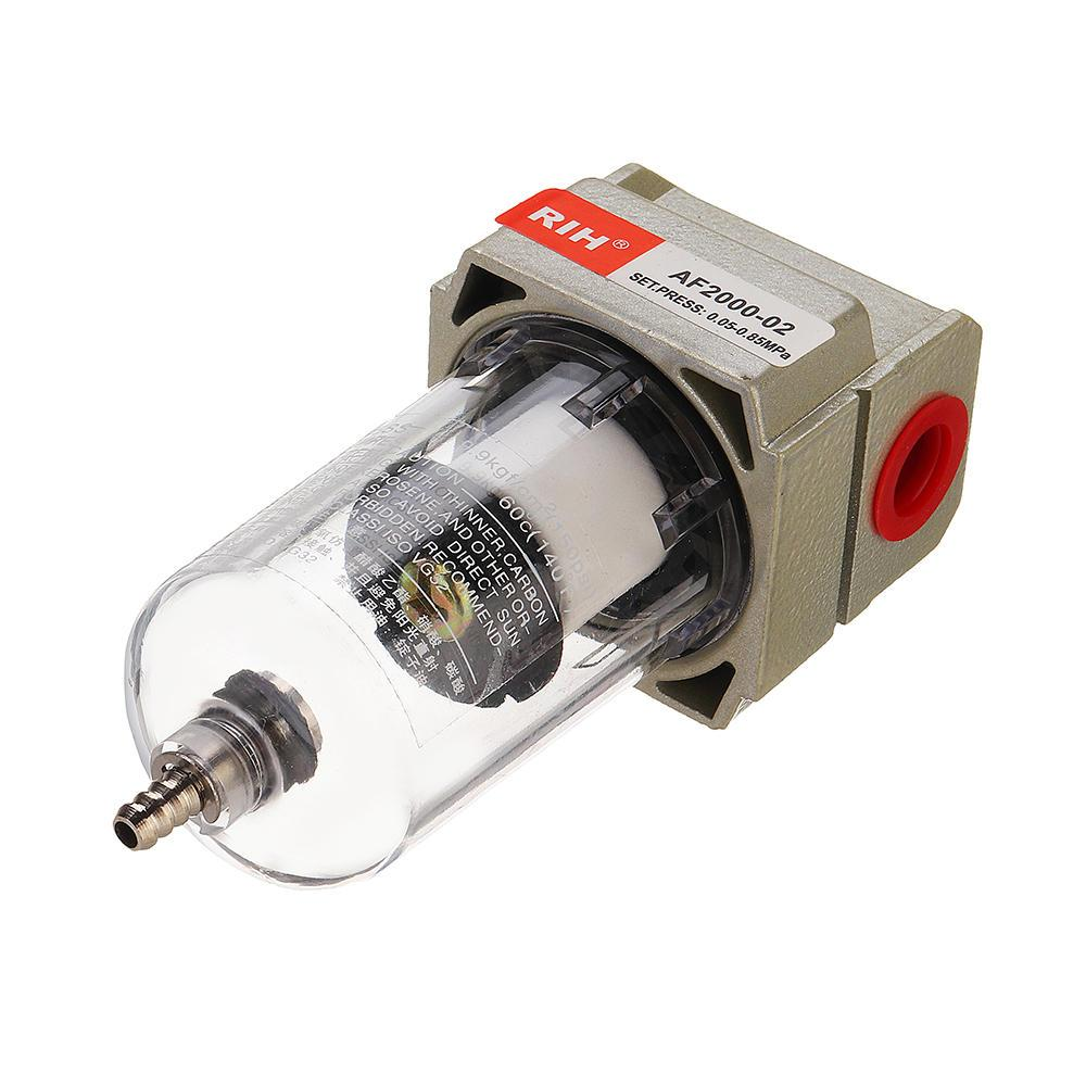 AF2000-02 1/4 ضاغط ضغط منظم هوائي فلتر الهواء