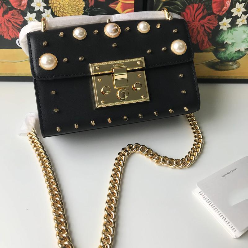 bolsa metálica aleta cadena de lentejuelas de civil las mujeres nueva perla de los granos de diseño de lujo bolsos de los bolsos de alta calidad bolsos de moda