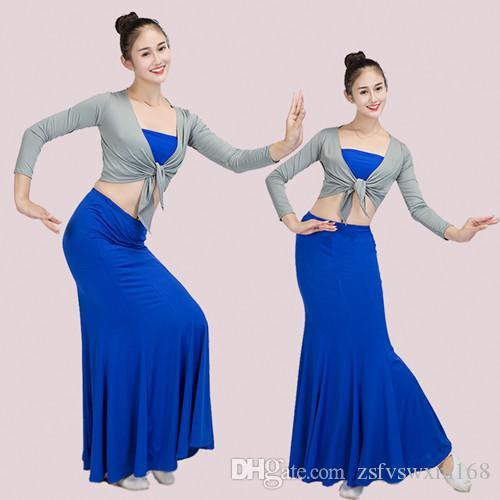 Взрослые детские полу юбки Dai Танцевальные костюмы павлина Танцевальные юбки для практики Другие свадебные принадлежности