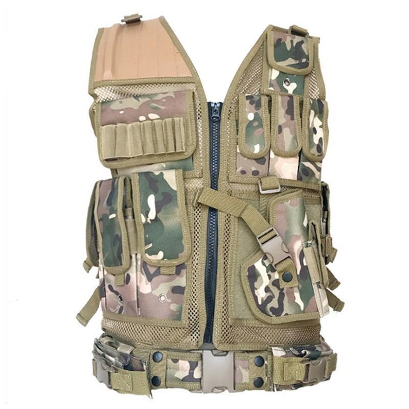 Tactical Weste für Molle Kampfsturm Platten-Fördermaschine Tactical Vest CS Outdoor-Bekleidung Jagd