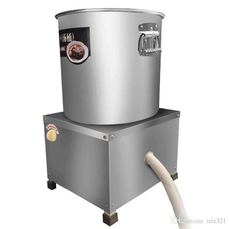 acier inoxydable centrifuge automatique des chips de légumes machine de déshydratation / fruit machine déshydrateur