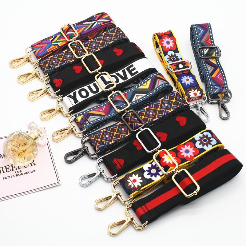 Bag Strap Handbag Belt Wide Shoulder Bag Strap Replacement Strap Accessory Bag Part Adjustable Belt For Bag 130Cm 7 130cm