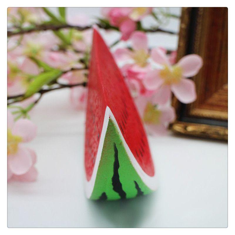 Brinquedos de frutas Squishy Melancia Mole Stress Ansiedade Redutor Criativo Squeeze PU Brinquedo Home Decor Lento Rising