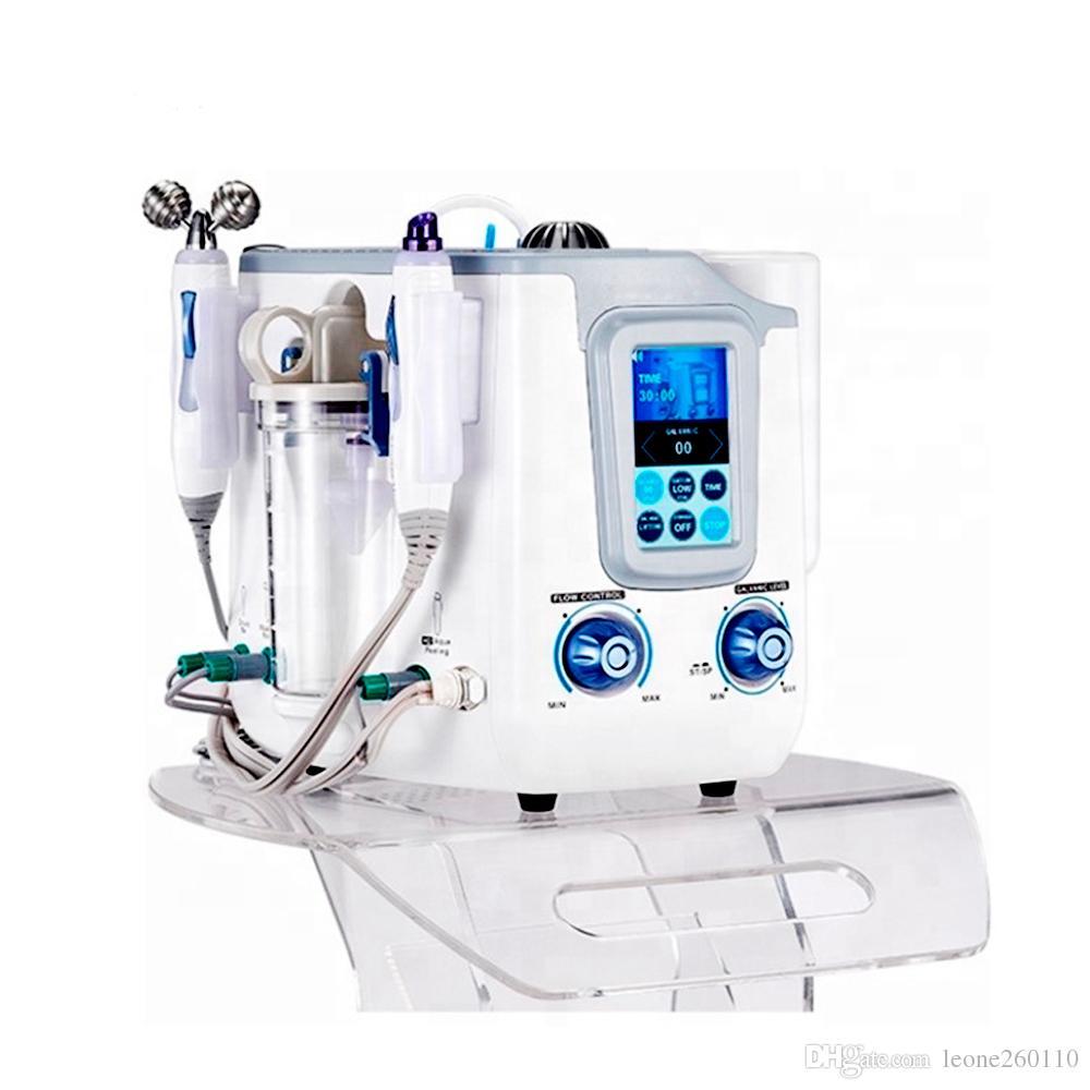 فقاعة 3IN1 كوريا Aquasure H2 O2 المياه أكوا تقشير تنظيف عميق الوجه سبا آلة الجمال الهيدروجين الوجه آلة التطهير الشحن المجاني