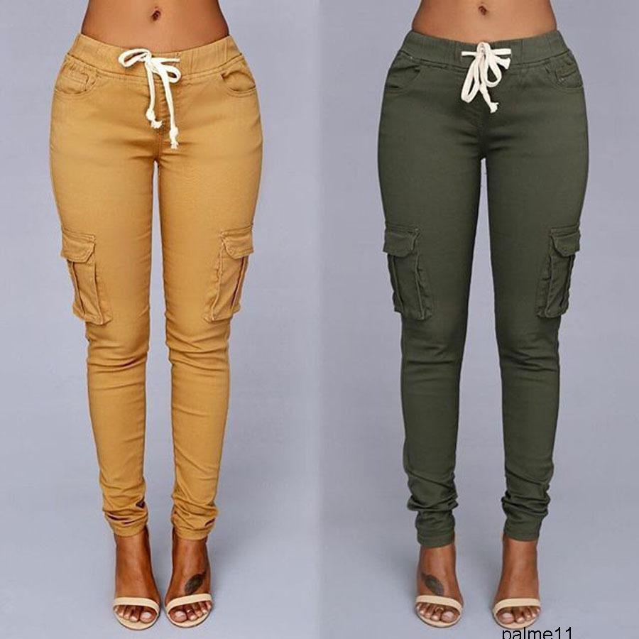 Elastico Sexy matita matita jeans per le donne leggings jeans jeans in vita alta jeans da donna sezione sottile pantaloni in denim X8QW
