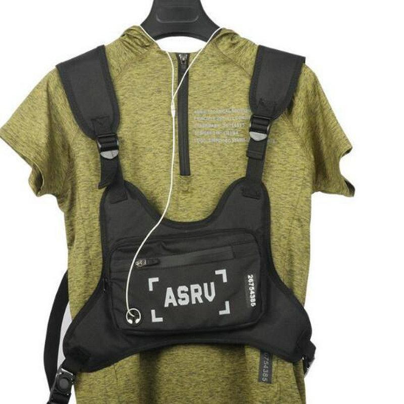 2020 Borse tattiche per Sacchetto degli uomini del sacchetto impermeabile fitness Rig Streetwear Vest Cellulare Sport sacchetto della cassa Borse Gilet Viaggi Sport Borse EU6