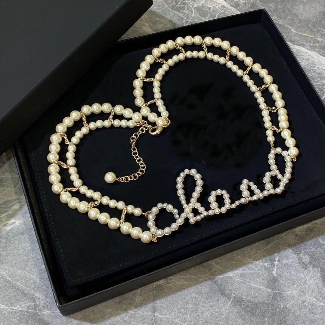 Modemarke R Designer Halskette für Dame Frauen-Partei-Hochzeit Liebhaber Geschenk Engagement Luxuxschmucksachen für die Braut mit KASTEN