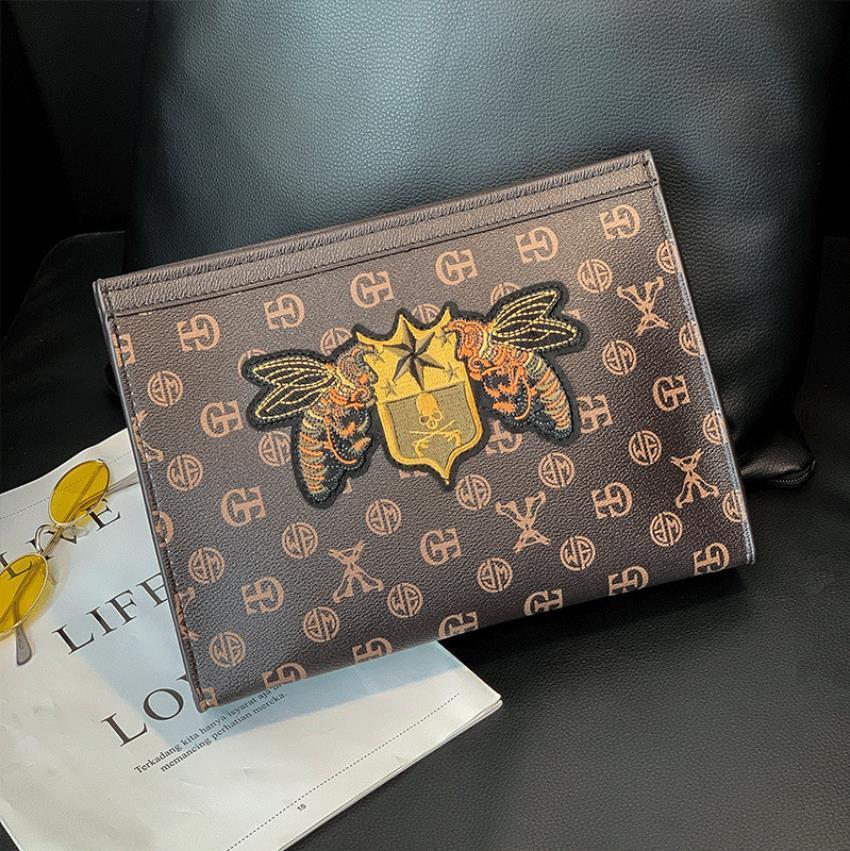 Business Men Briefcase Bag Luxury Designer Laptop Bag Office Large Capacity Briefcase Male Bags Spacious Interior Design