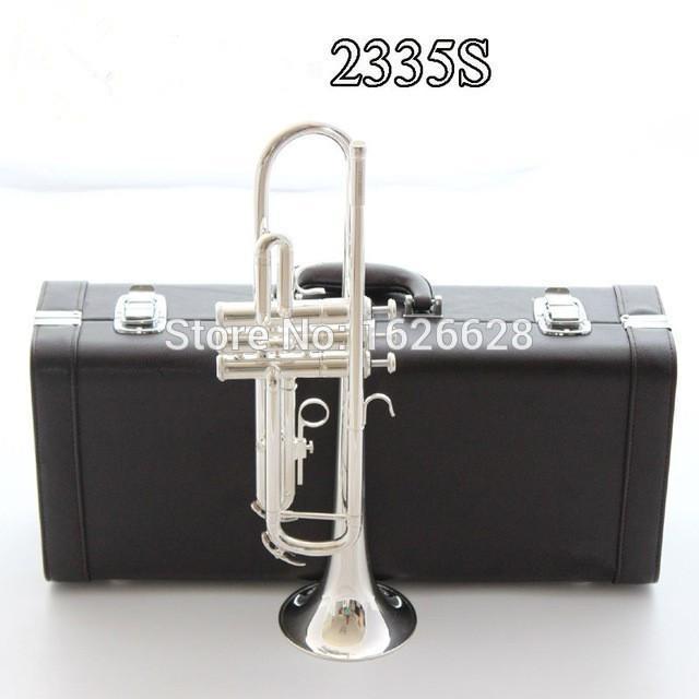 Silver Bach Tromba YTR-2335S Strumento musicale B Tromba piana preferita Nuova tromba Super Professional Performance Spedizione gratuita