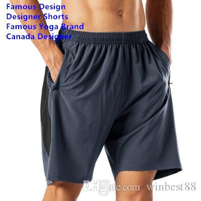 ماركة اليوغا الشهيرة يمكن أن تعمل ملابس داخلية رياضية قصيرة صيفية مصممة ملابس داخلية صيفية هرولة الرجال السراويل الصيفية سراويل شاطئية عالية الجودة