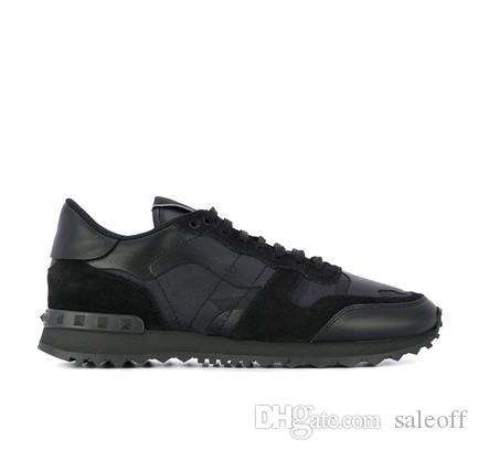 Designer Fashion Camouflage Sneakers Shoes Rock Runner Men,Women Walking Flats High Quality Rockrunner Trainers Casual EU36-46