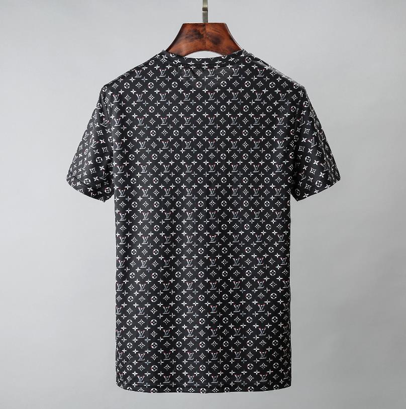 2020 Arrive Marka Sıcak Satıcı Tasarımcı lüks Kadınlar Erkek Tişörtü Moda Günlük İlkbahar Yaz Tees Kaliteli Lüks Kız tişört 20030903D