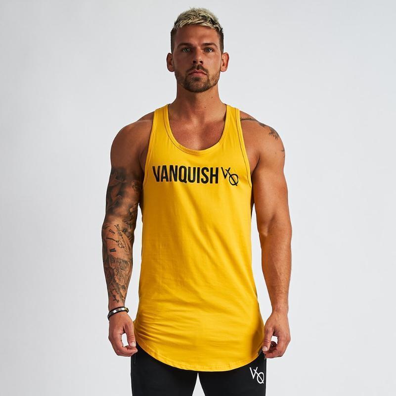 Мужчины мышцы Фитнес без рукавов Спорта жилета для мужчин Фитнес Бега без рукавов футболка дышащего Тонкого Обучения Compression Top Wear
