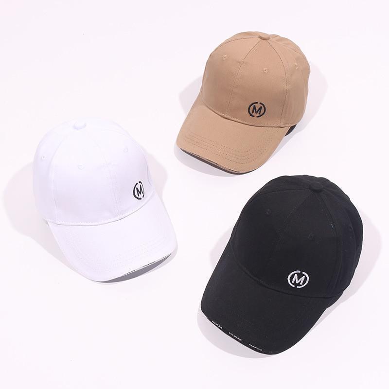 Verano muchachas de los muchachos gorra de béisbol 1-2Year algodón niños del niño impresa letra Tenis Hip Hop informal Sun casquillos del Snapback