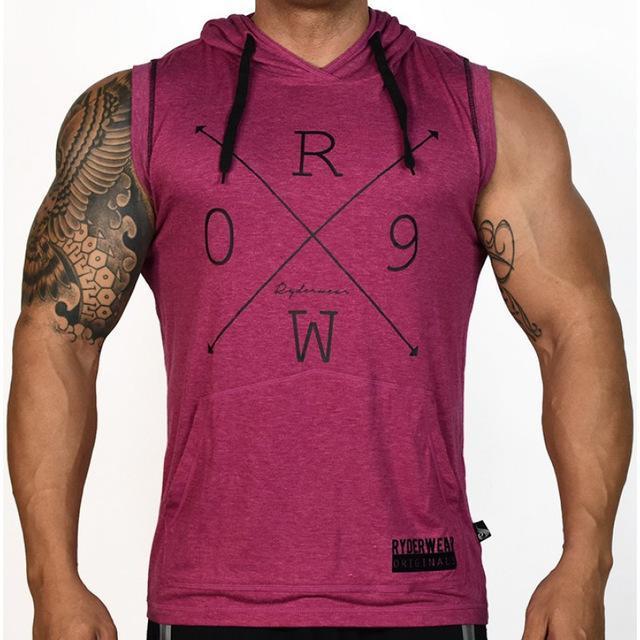 Önce ve Asimetrik Spor Erkekler Spor Salonları Tank Top Designer sonra Birlikte Katılma Yeni Marka Pamuk Giyim Vücut