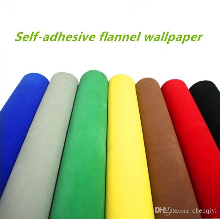 Yeni Kendinden yapışkanlı akın bez duvar hediye kutusu ambalaj fotoğraf pazen kumaş sayaç havlu kumaş araba mobilya mücevher kutusu duvar sticker