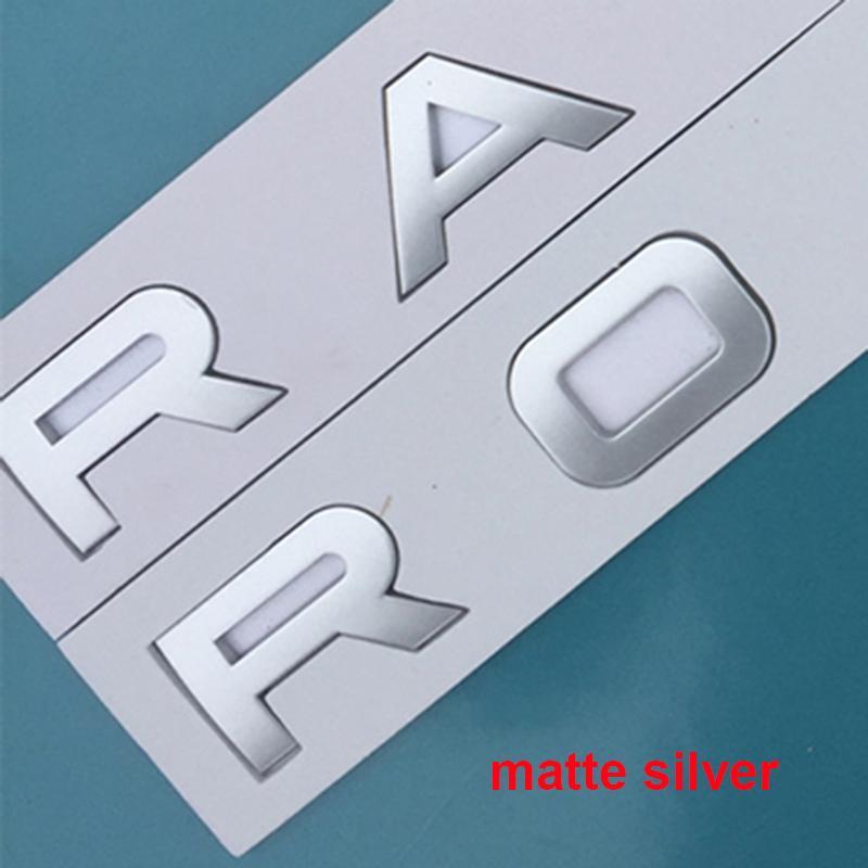 رسائل شعار لRANGE ROVER حلقي SV السيرة الذاتية الطبعة النهائية DISCOVERY SPORT السيارات التصميم هود الجذع شعار شارة لاصقة