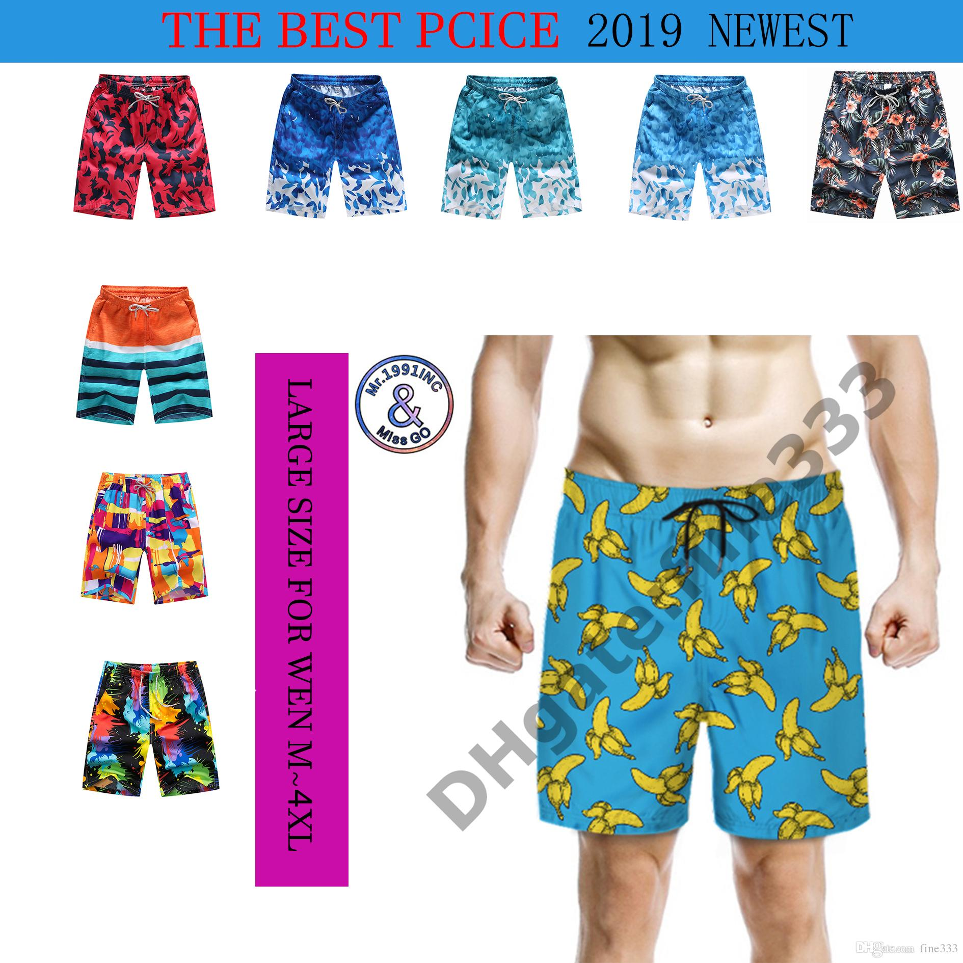 Summer Shorts Beach Shorts For Wen and Kids Extra Karge Size M to 4XL 3D Printing Beach Clothing Outdoor Shorts