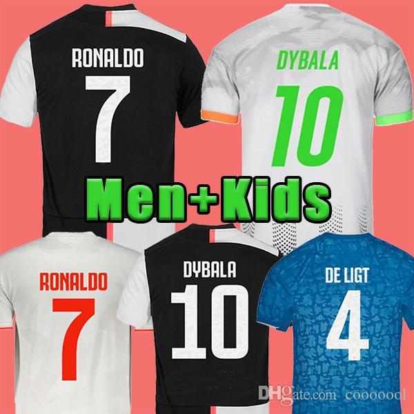 2020 2019 Ronaldo Juventus Soccer Jersey 2020 Juve Kids Home Away De Ligt Dybala Higuain Buffon Camisetas Futbol Camisas Maillot Football Shirt From Cooooool 15 23 Dhgate Com
