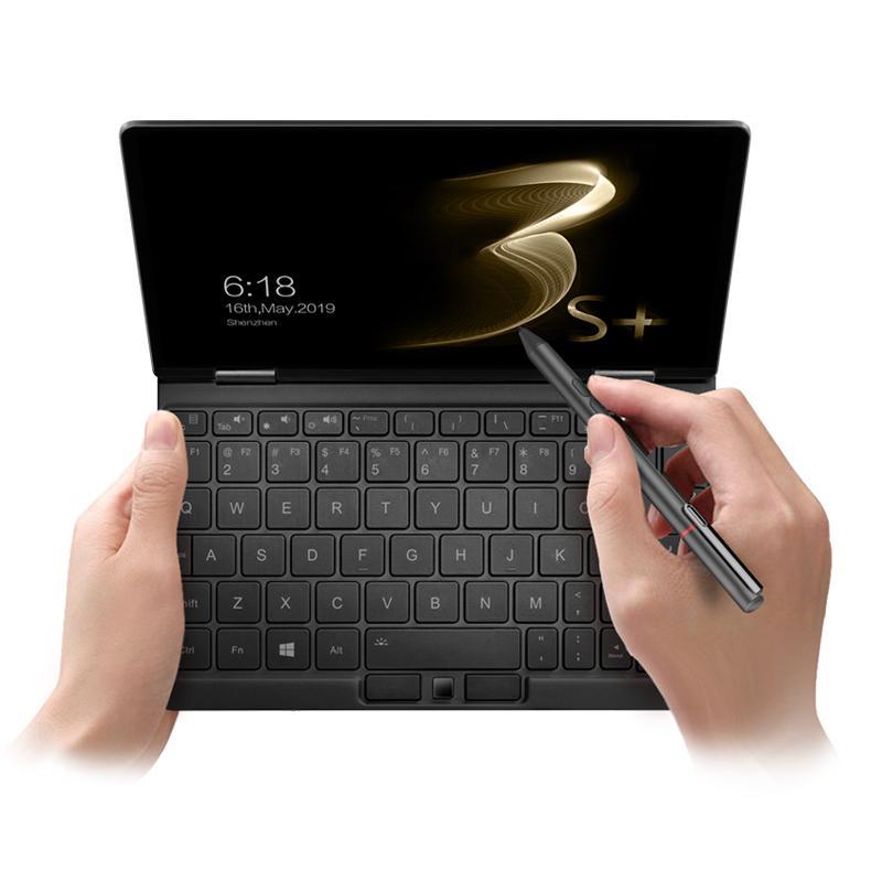 واحد netbook onemix3 s + 2 in1 tablet - نظام التشغيل Windows 10 License Mini Laptop، 8.4 بوصة IPS 2560 1600 شاشة لمس، Intel Core 8100Y 8GB + 256 GB