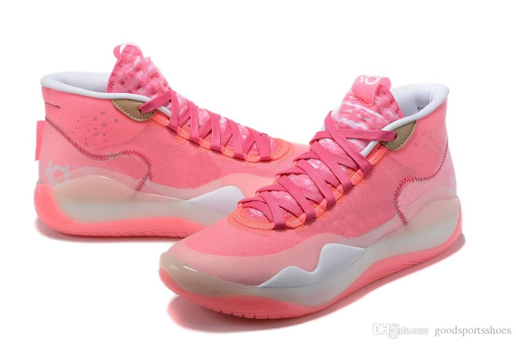 Aunt Pearl KDs GS Kd 12 Aunt Pearl WOMEN Kids For Sales With Box Kevin Durant 12 ...