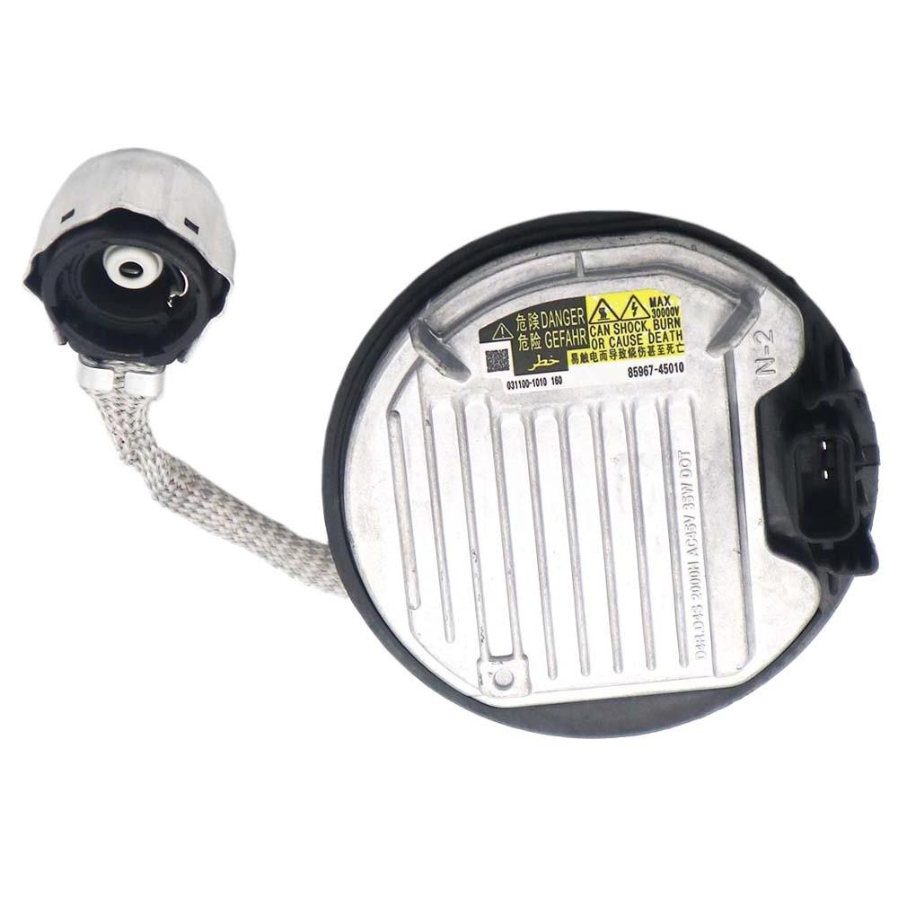 DENSO KOITO 85967-45010 85967-02010 031100-1060 HID Xenon Headlight Ballast Control Unit Module ECU D4S D4R For Toyota Lexus