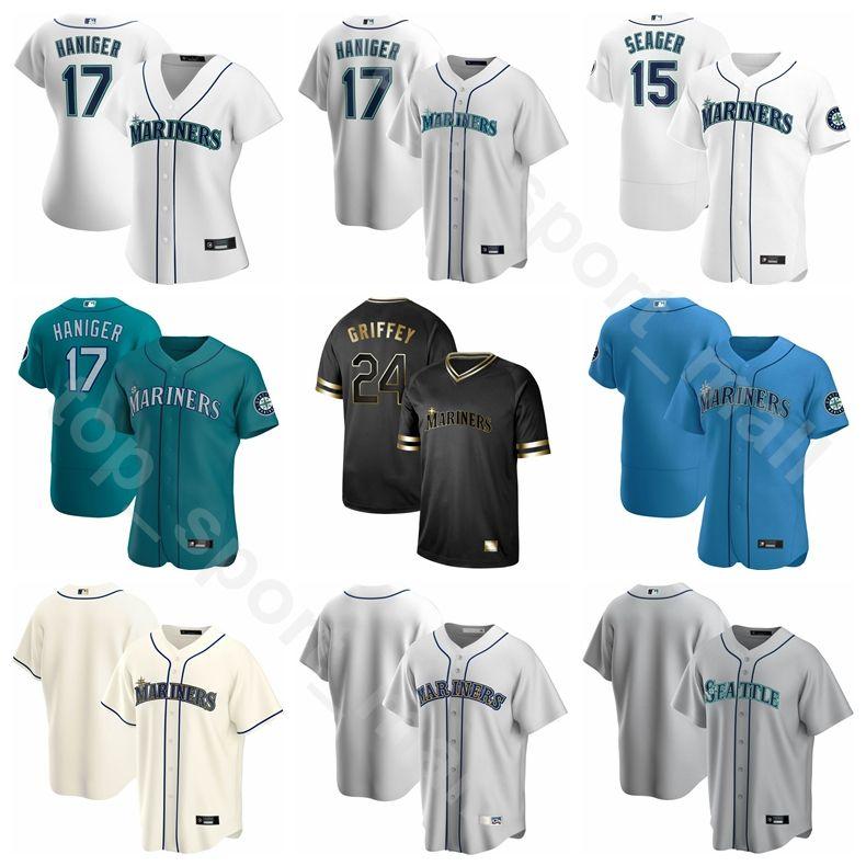 New 2020 Baseball Man Woman Kids 7 Marco Gonzales Jersey 18 Yusei Kikuchi 12 Evan White 6 Yoshihisa Hirano 49 Kendall Graveman Cooperstown