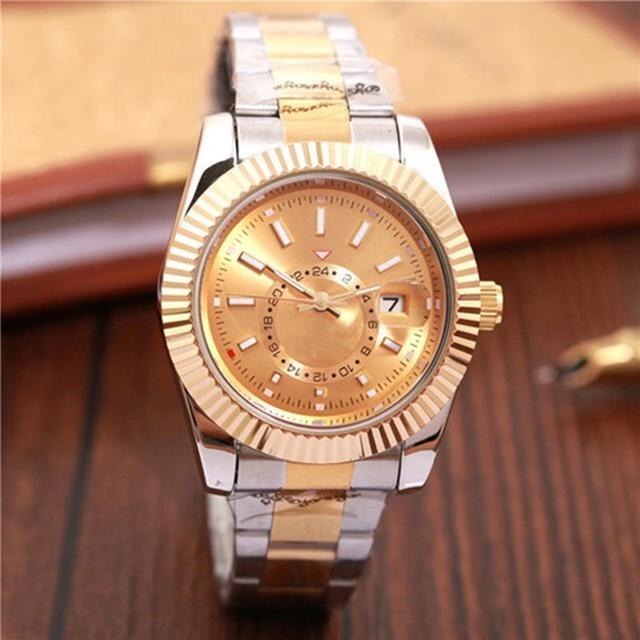 relógio de luxo cronógrafo designer de relógio de data automática relojes relógio relógio dos homens quentes dos homens de moda masculina de quartzo mujer