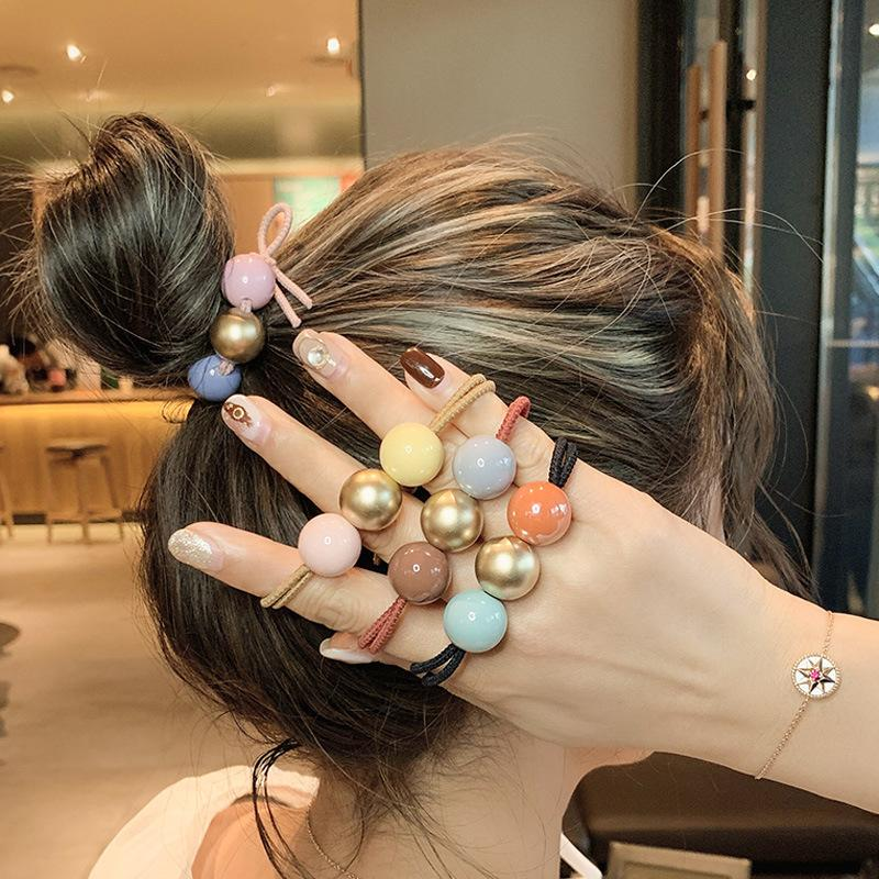 Coréen édition simple et douce pour adultes fille Bracelet avec double usage Bijoux Tendon en cuir