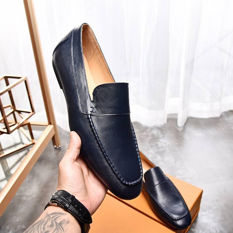 Бизнес случайные Англии формальные мужские Новые свадебное дела людей плоские ботинки платья