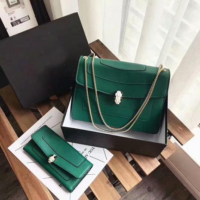Designer- Nueva alta calidad del bolso de hombro bolsas de hombro de cuero bolso de la llegada nueva manera mujeres del estilo + billetera un conjunto bolsas de hombro